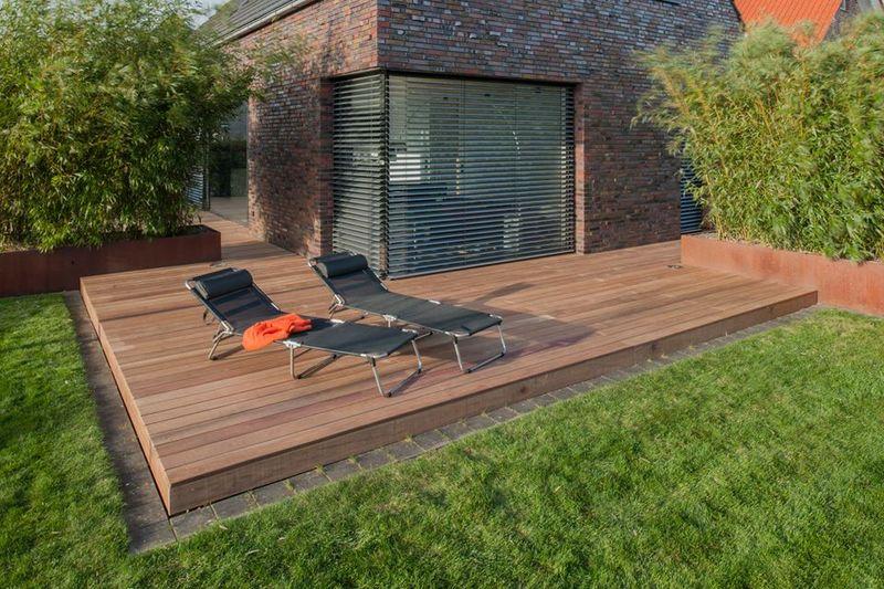 Teakholz terrasse  Surinam Terrassenholzdielen ☆ Stauseeholz | Holz Ziller