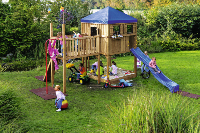 kinder spielger te garten spielturm holz ziller. Black Bedroom Furniture Sets. Home Design Ideas