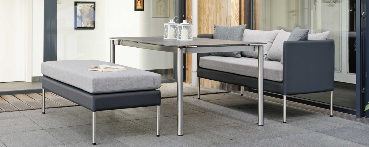 gartenm bel von stern holz ziller. Black Bedroom Furniture Sets. Home Design Ideas
