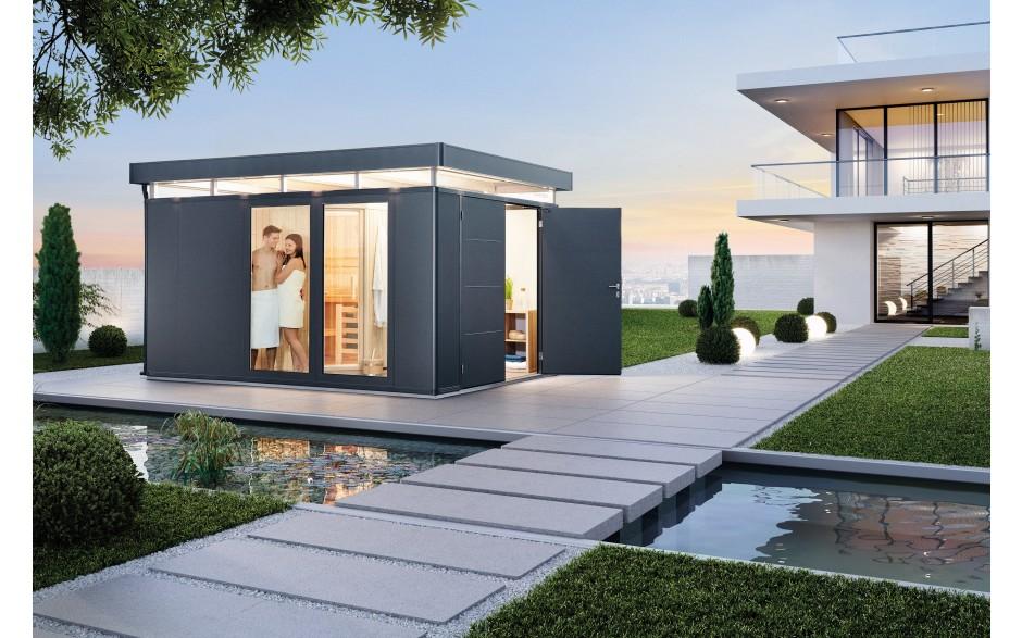 gartenh user aus metall biohort casanova holz ziller. Black Bedroom Furniture Sets. Home Design Ideas