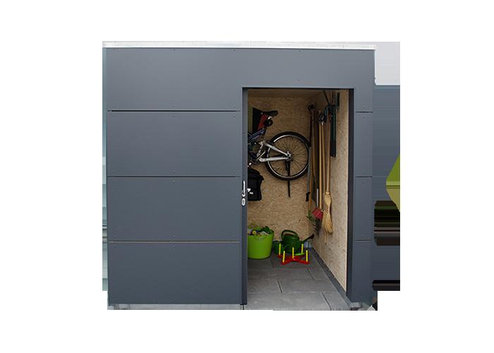 Gartenhaus modernes design holz ziller for Kubus haus innen