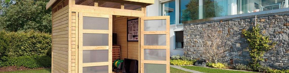 Gartenhaus Modernes Design | Holz Ziller Modernes Gartenhaus Fur Gartengerate