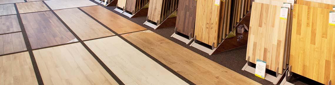 Parkettboden, Laminatboden und Vinylboden. Große Bodenausstellung ...