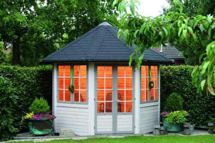 Pavillons aus holz kaufen ziller